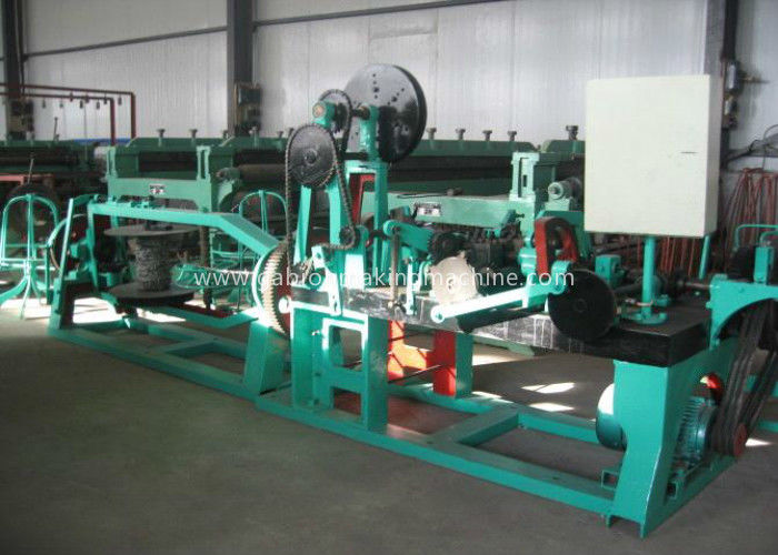 Fully Automatic Barbed Wire Machine Reverse Twisted Galvanized Wire For Highway