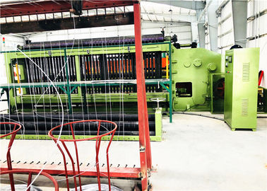 China 7.5kw hexagonale Draad het Opleveren Machine/van de Rand Windende Machine PLC Controle fabriek